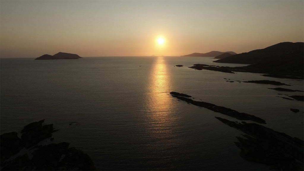 Kerry-sunset-photo-from-Drone
